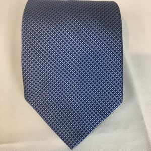 Brooks Brothers 346 Blue Pure Silk Necktie Tie